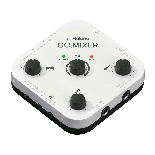 Compact Audio Mixer For Smartphones