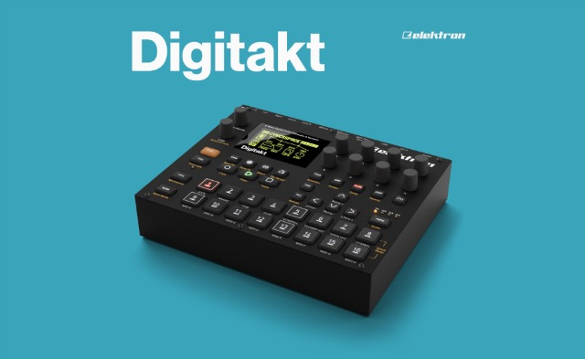 NAMM 2017: Elektron Debuts Digitakt 8-track Drum Machine And Sampler