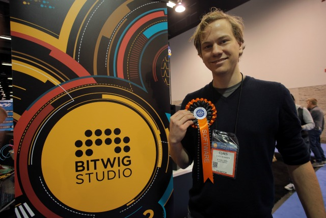 Bitwig Win NAMM 2017 Software Award