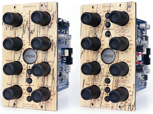 elysia 500 Series Modules Get Wood