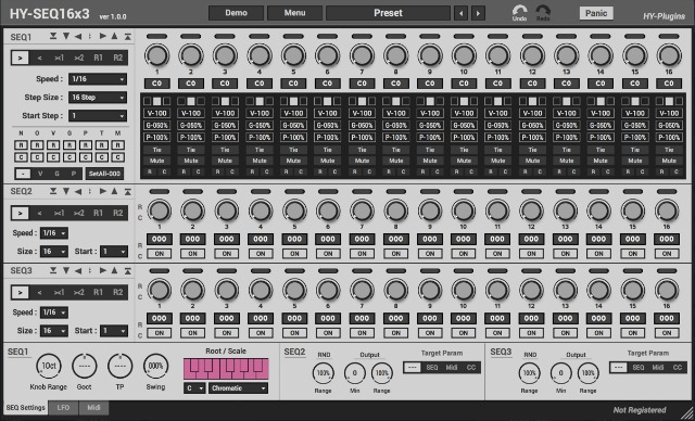 Analog-Style Step Sequencer Plug-In