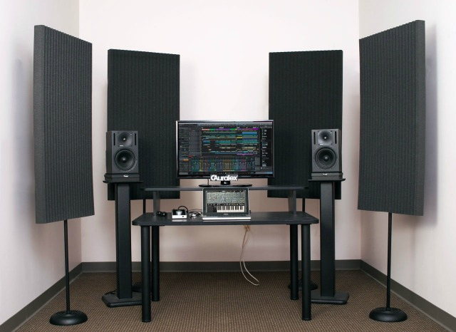 Stand-Mounted Acoustical Panels