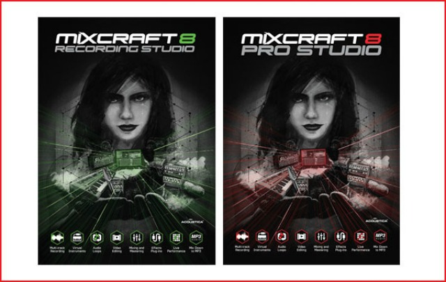 Mixcraft 8 Is With Us