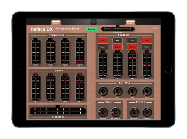 ipad midi controllers for yamaha reface dx. Black Bedroom Furniture Sets. Home Design Ideas