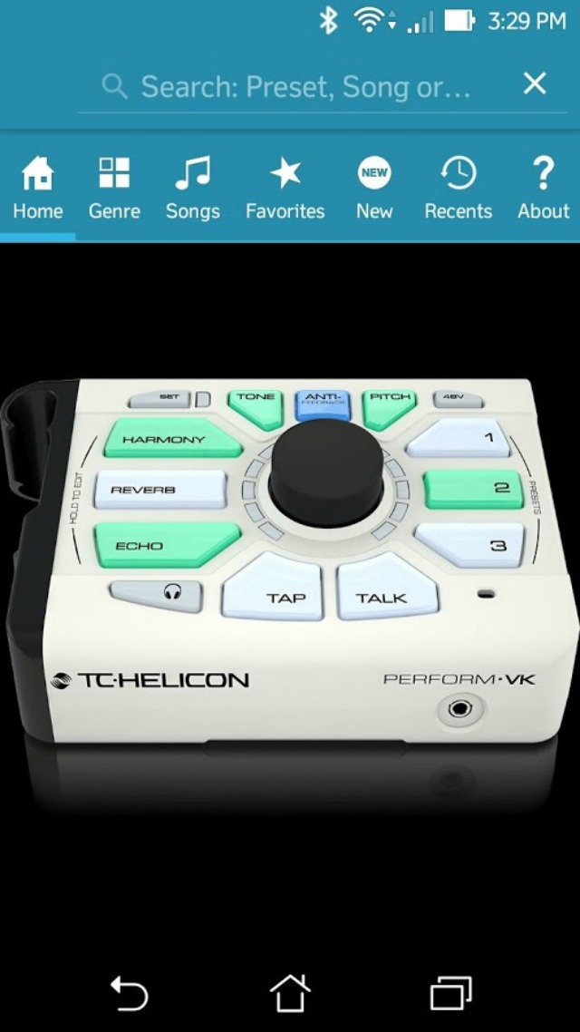 App For Keyboard Players' Voice Processor