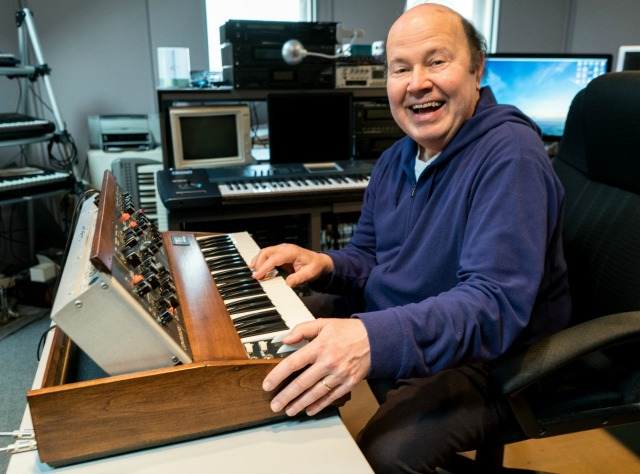 Win A Vintage Minimoog Signed By Jan Hammer
