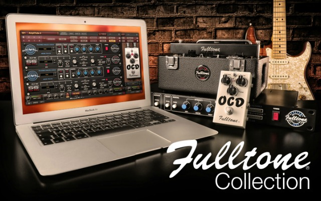 AmpliTube Gets Fulltone Effects