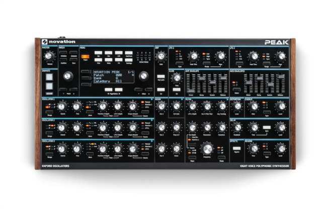 Peak Leak - Take A Look At Novation's New 8-Voice Polyphonic Synth