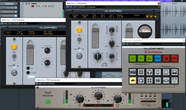 Audified Releases Studio Bundle Plug-In Set