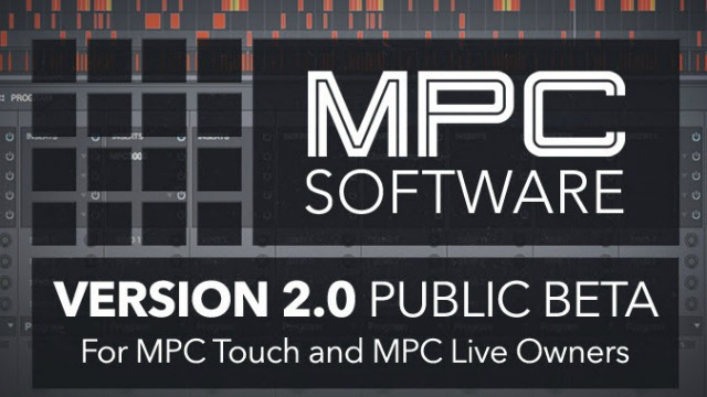 Akai MPC 2.0 Public Beta Is Now Available