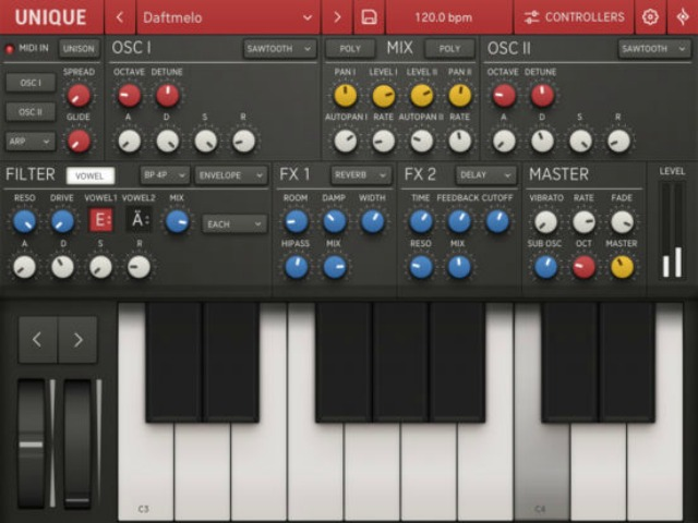 Unique Synth For iOS