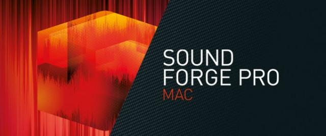 SOUND FORGE Upgrades