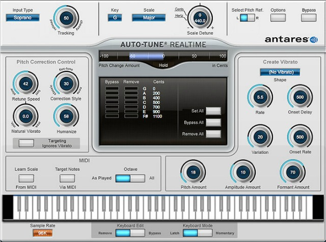 Auto-Tune In A Powered Plug-In