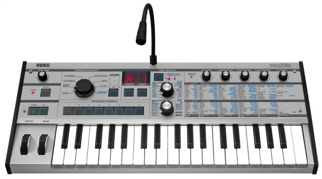 Limited Edition microKORG In Platinum