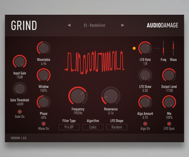 Grind - A Noisy, Snorting Beast Of A Plug-In