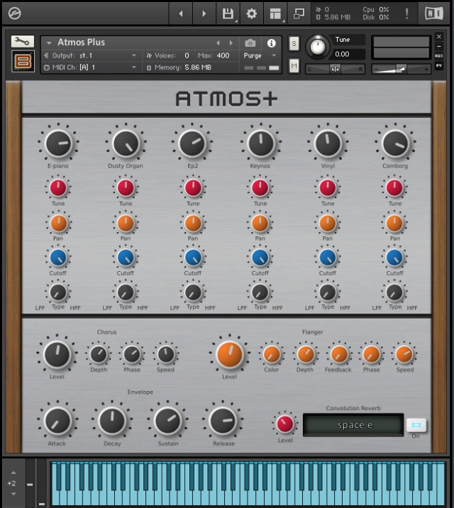 Free Kontakt Instrument Creates Atmospheres