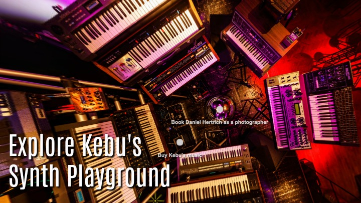 Explore Kebu's Interactive Synth Playground