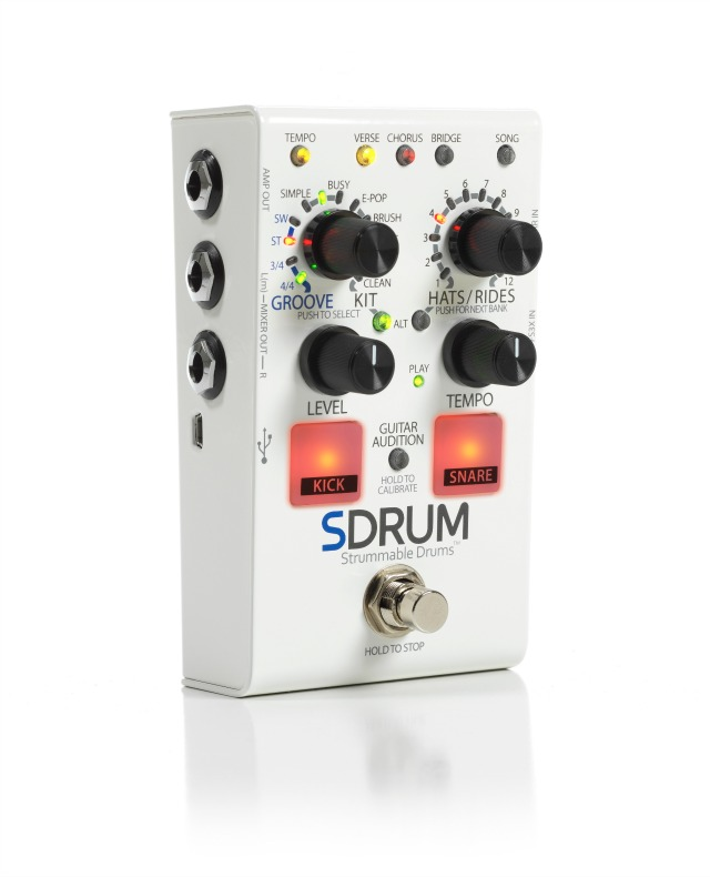 Intelligent Drum Machine For Guitarists