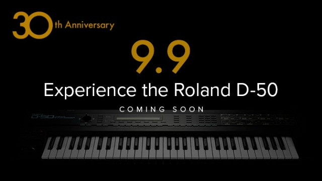 Roland September Season Teases D-50 Experience