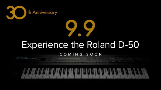 Roland September Season Teases D-50 Experience