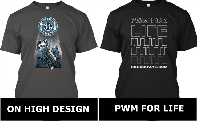 Two More Sonicstate Tee Designs Available