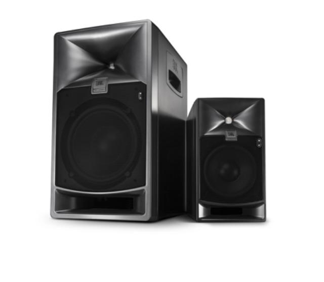 New JBL Powered Studio Monitors