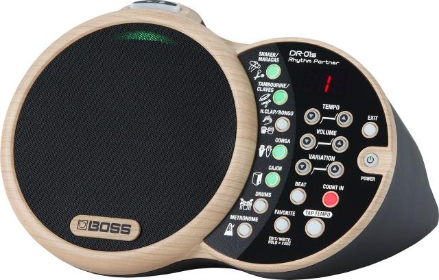 BOSS Releases DR-01S Rhythm Partner