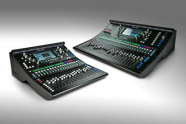 Allen & Heath Launches SQ Digital Mixers