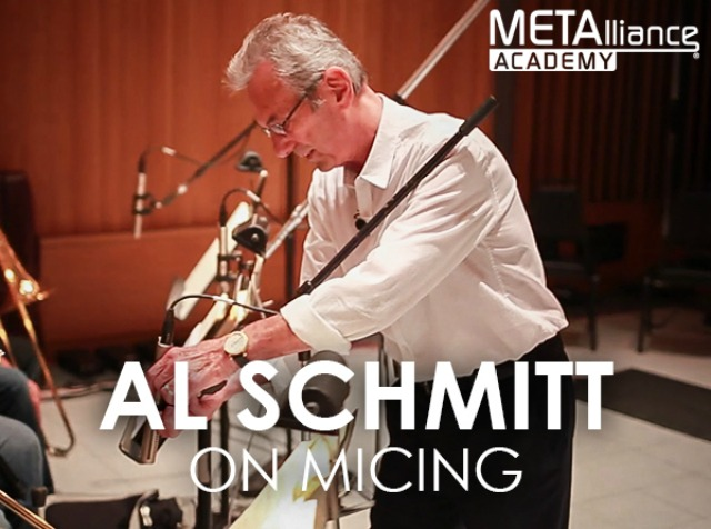 Learn Al Schmitt's Mic Techniques