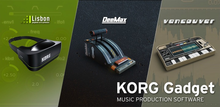 Korg Update Gadget With Three New Gadgets