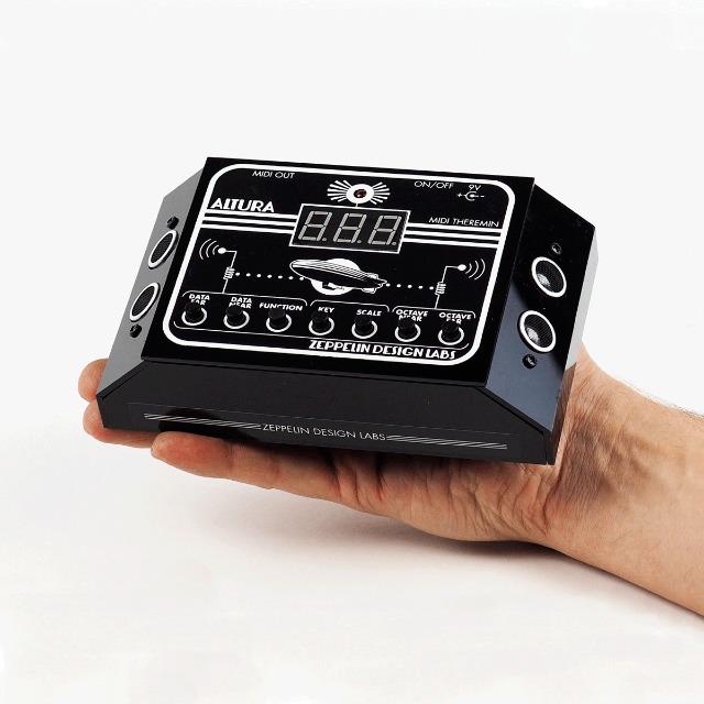 MIDI Control Theremin-Style