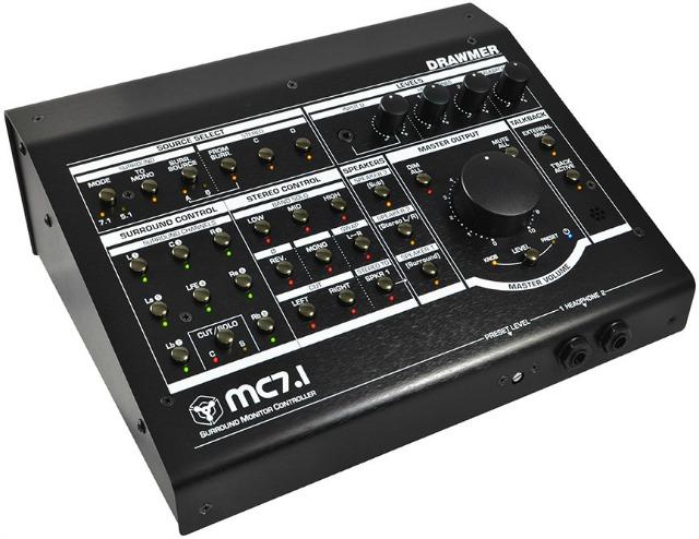 Drawmer Ships MC7.1 Surround Monitor Controller