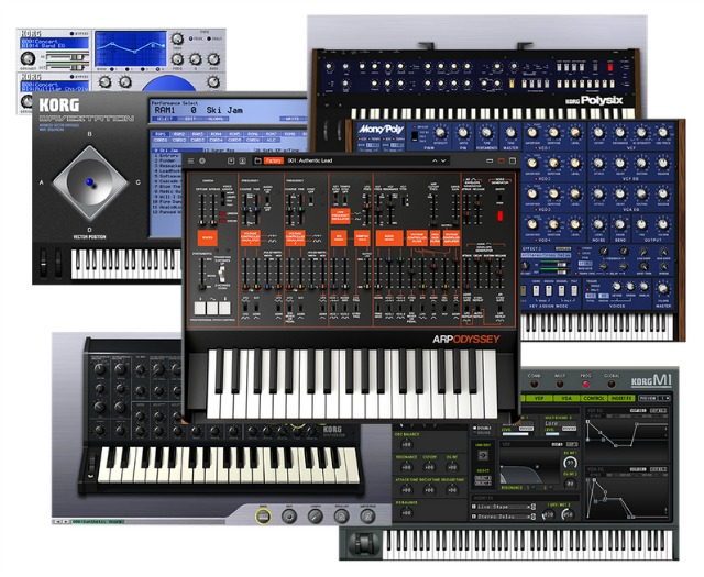 Korg's Synths In Software
