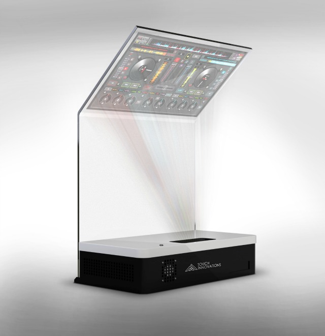 Transparent Multi-Touch Control Display