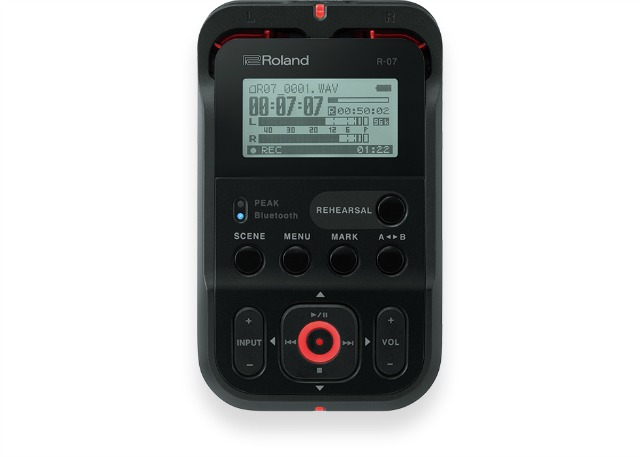 Roland Introduces A New Portable Recorder