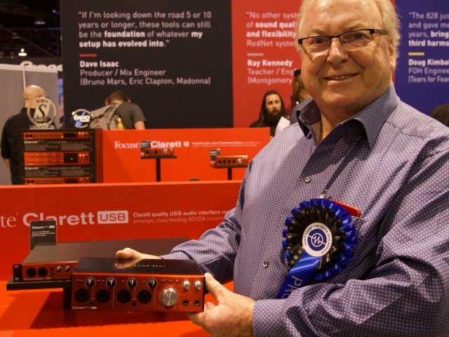Focsrite Clarett USB - Phil Dudderidge
