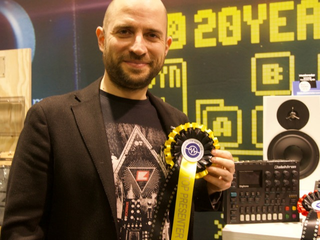 Cenk Top presenter NAMM 2018