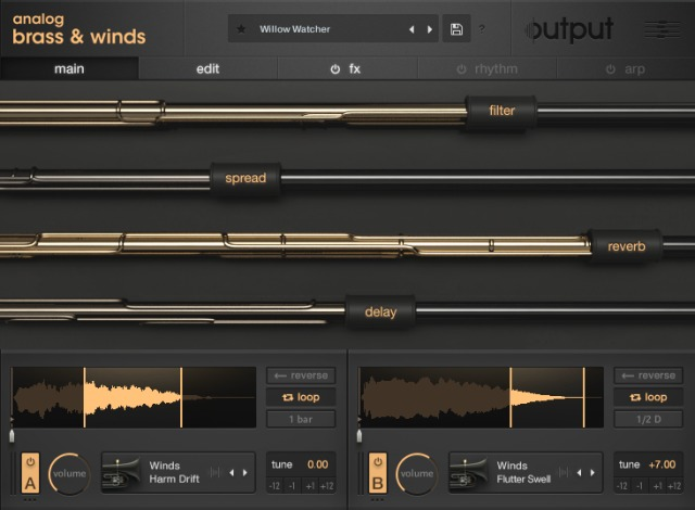 Output Releases ANALOG BRASS & WINDS