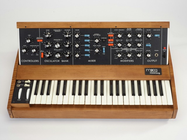 Win A Minimoog Signed By Rick Wakeman
