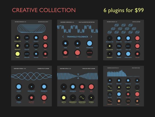 Sinevibes Introduces Creative Collection Bundle
