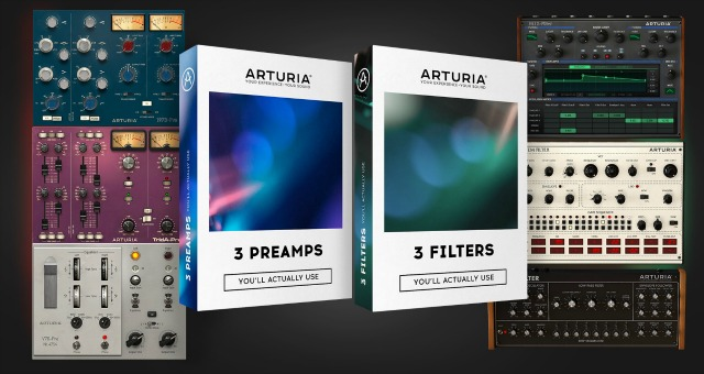 Arturia Launches 6 Plug-Ins And 2 Bundles